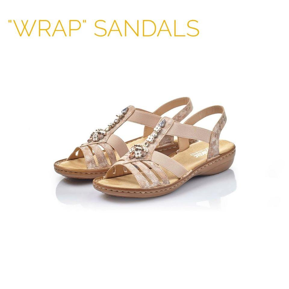 Sandale Rieker sa elastičnim trakicama