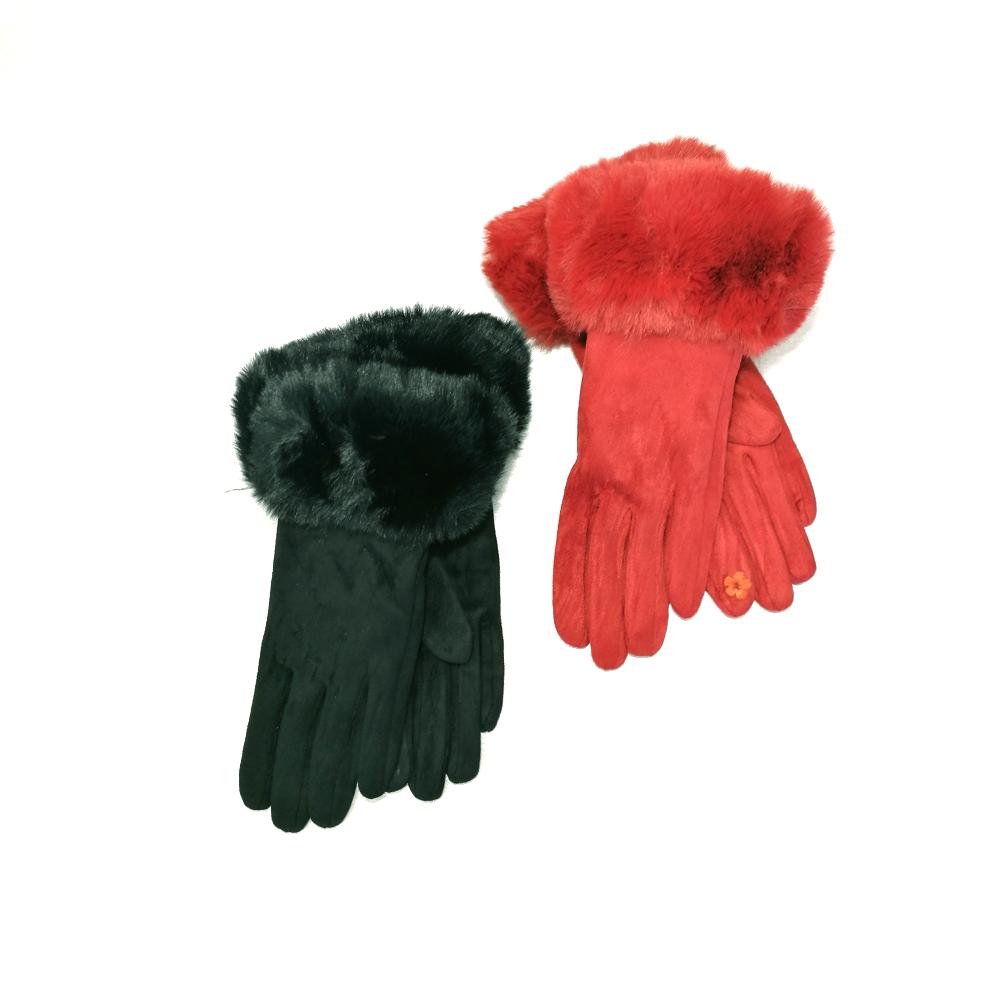 rukavice ukras krzneni