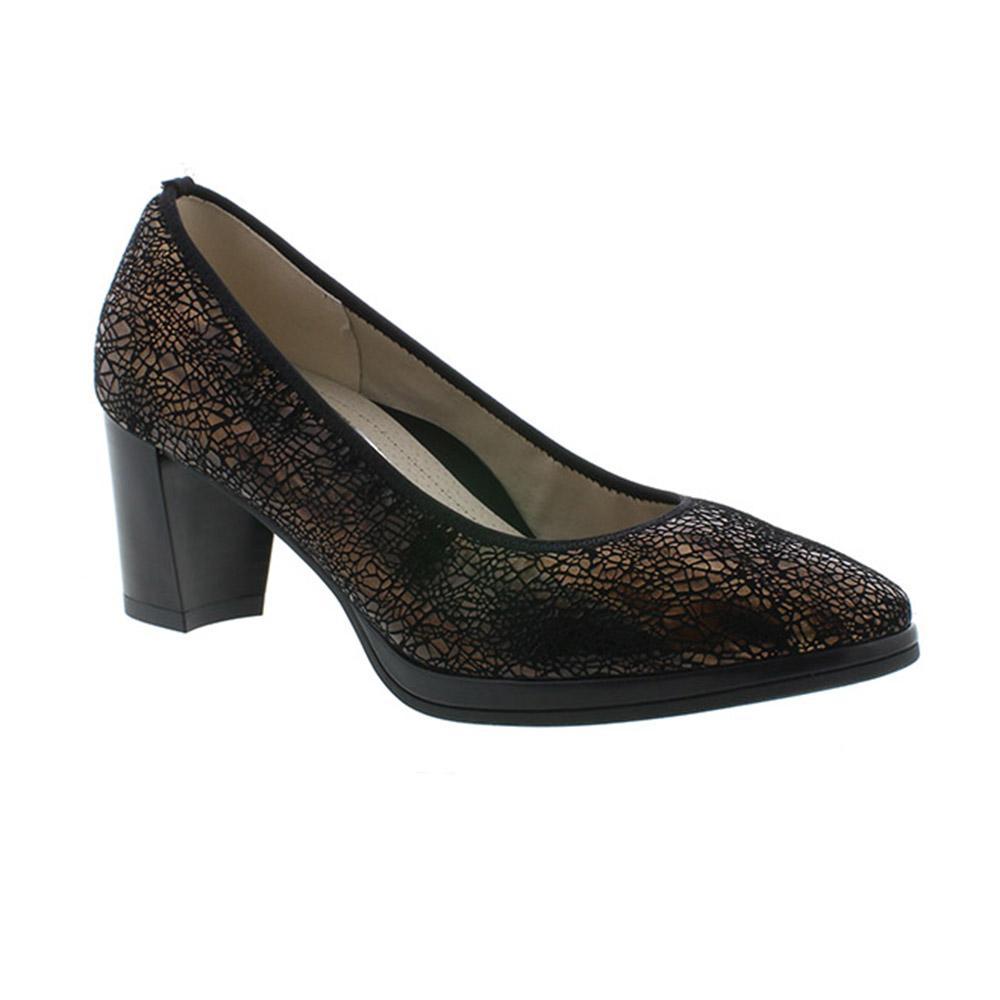 ženska crna cipela na petu
