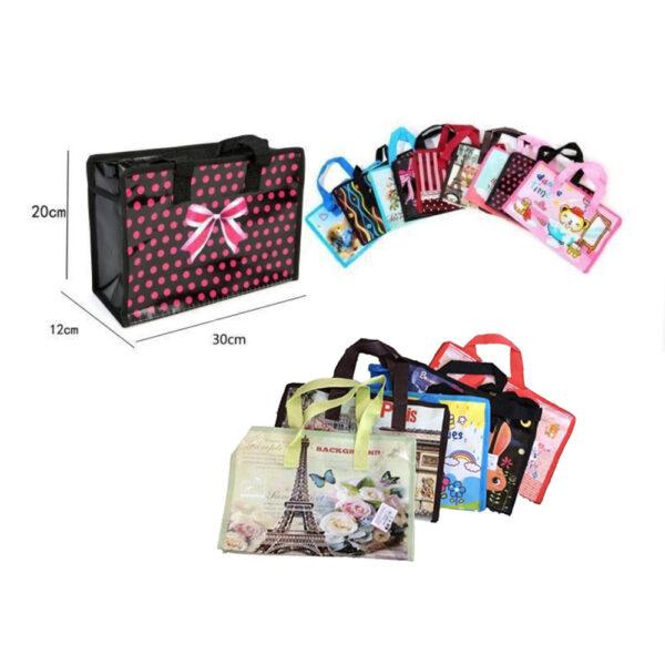 kockaste vrečice torbe za kupnju