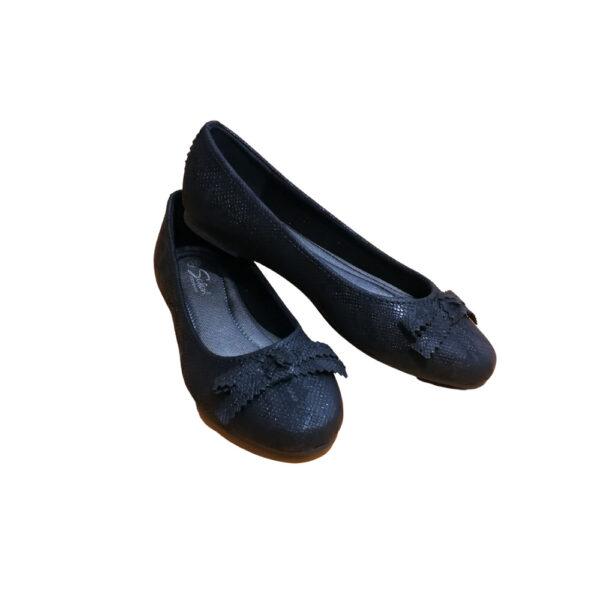 ženska balerinka crna