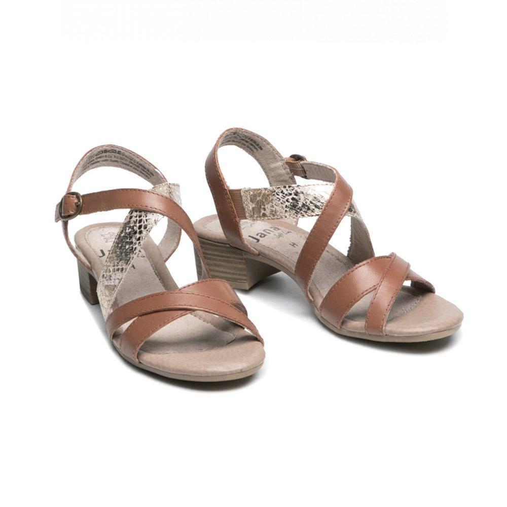 ženske smeđe sandale